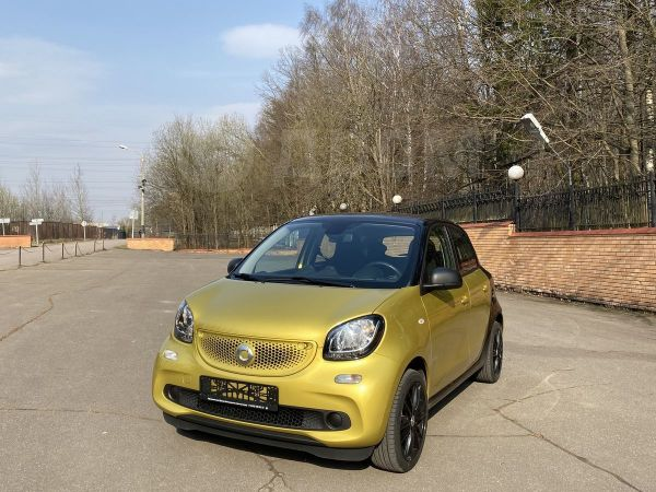 Smart Forfour, 2017 год, 750 000 руб.