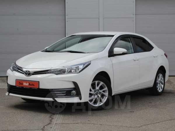 Toyota Corolla, 2017 год, 947 500 руб.