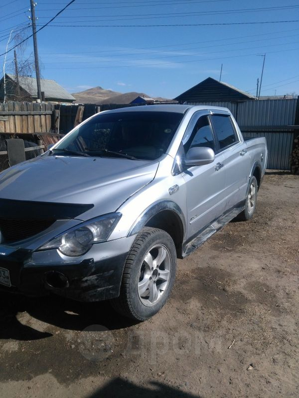SsangYong Actyon Sports, 2008 год, 320 000 руб.