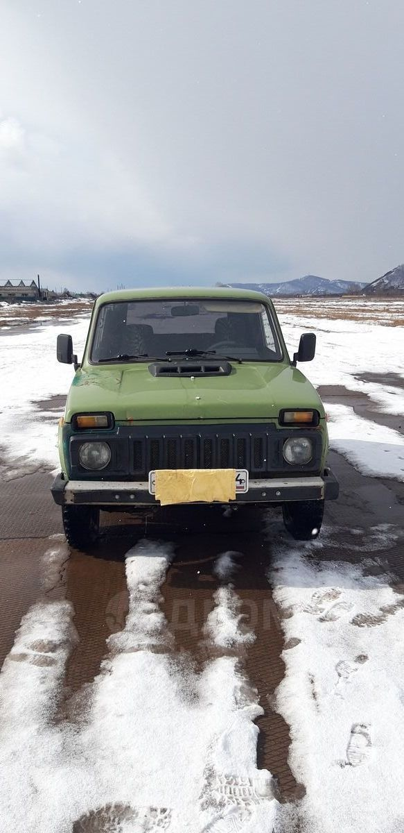Лада 4x4 2121 Нива, 1996 год, 135 000 руб.