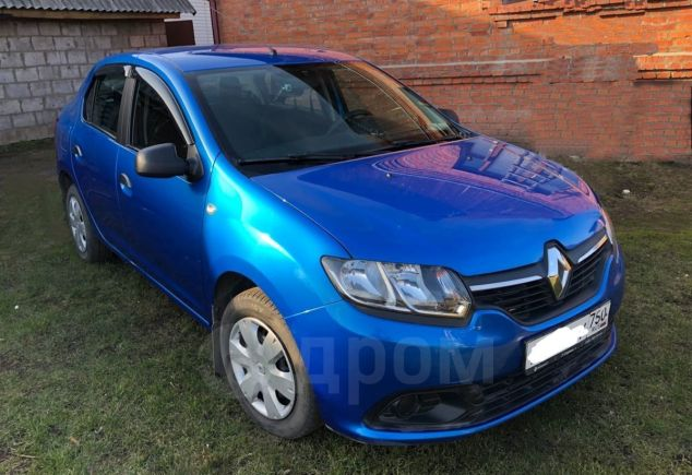 Renault Logan, 2017 год, 420 000 руб.