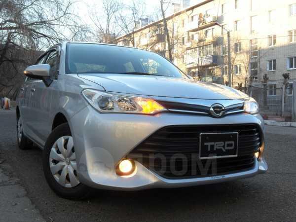 Toyota Corolla Axio, 2016 год, 550 000 руб.