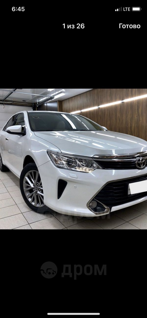 Toyota Camry, 2016 год, 1 340 000 руб.
