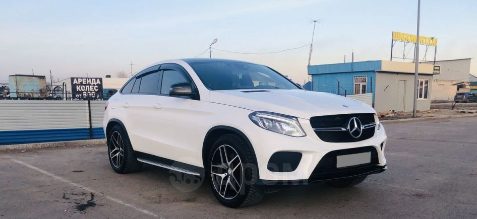 Mercedes-Benz GLE Coupe, 2016 год, 3 845 000 руб.