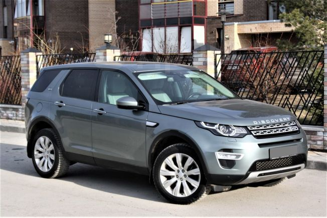 Land Rover Discovery Sport, 2015 год, 1 890 000 руб.