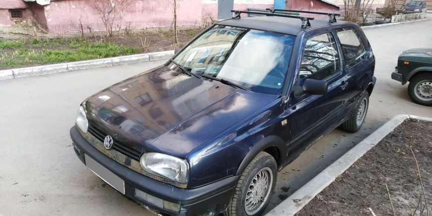 Volkswagen Golf, 1991 год, 43 000 руб.