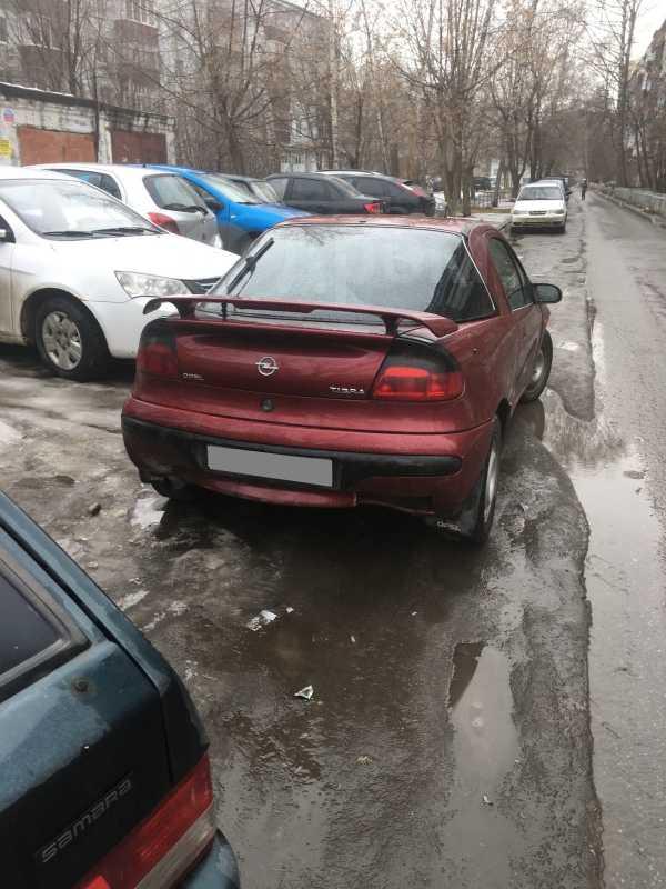 Opel Tigra, 1995 год, 55 000 руб.