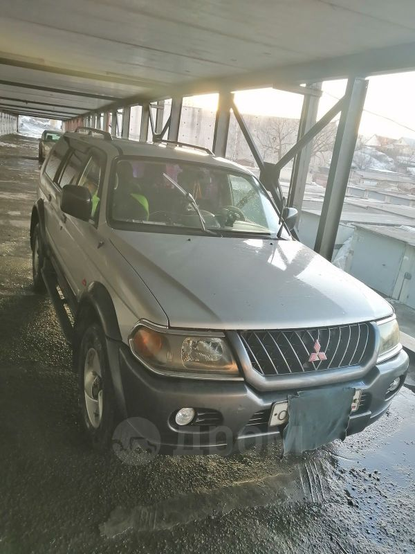 Mitsubishi Pajero Sport, 2002 год, 400 000 руб.