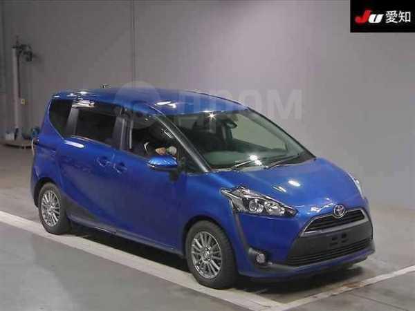Toyota Sienta, 2016 год, 710 000 руб.