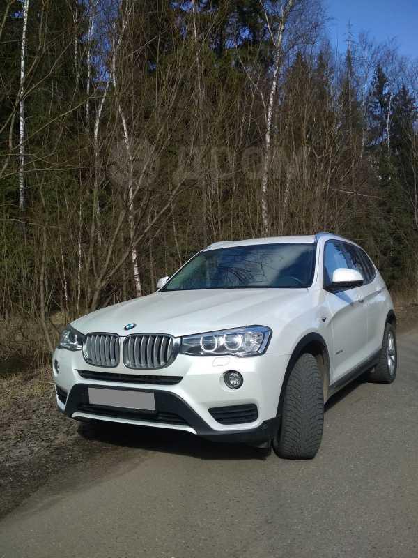 BMW X3, 2017 год, 2 500 000 руб.