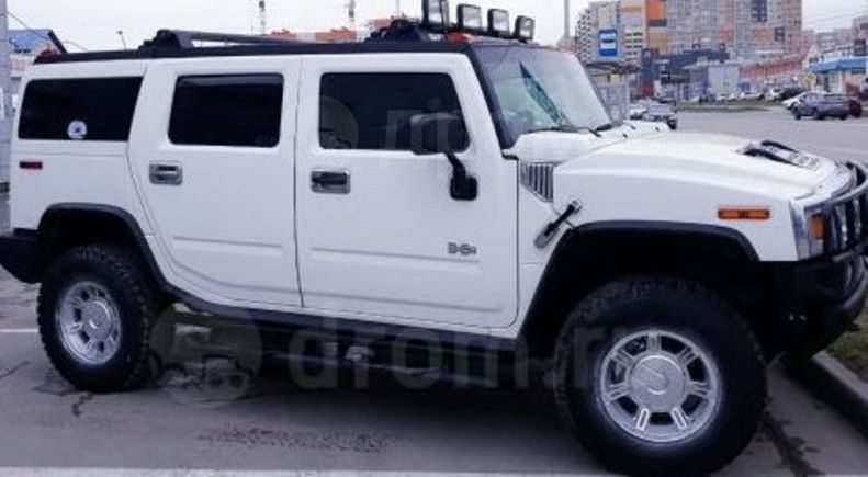 Hummer H2, 2003 год, 1 200 000 руб.