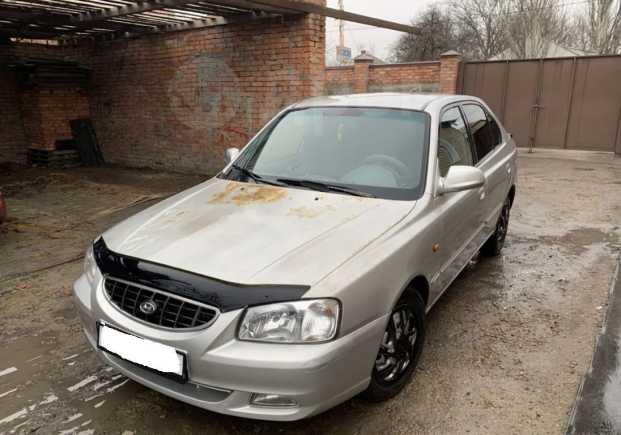 Hyundai Accent, 2000 год, 125 000 руб.