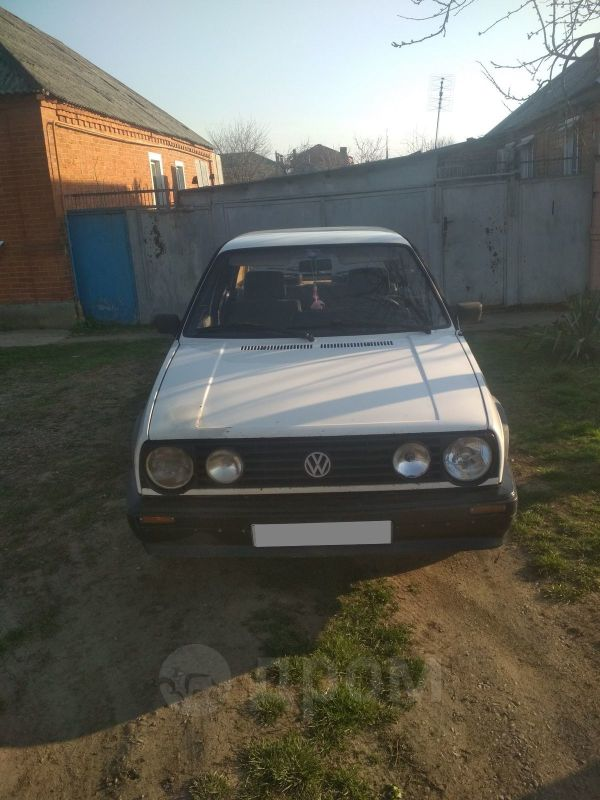 Volkswagen Golf, 1986 год, 55 000 руб.
