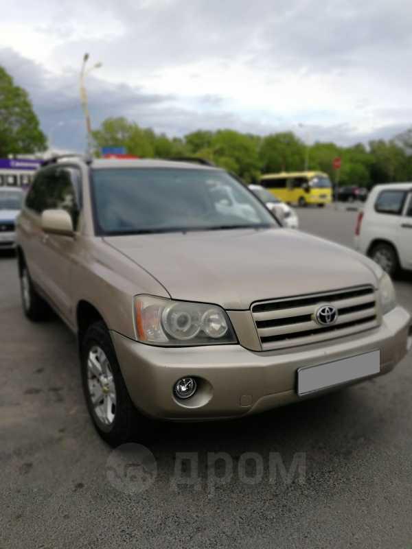 Toyota Highlander, 2004 год, 650 000 руб.
