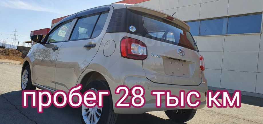 Toyota Passo, 2016 год, 495 000 руб.