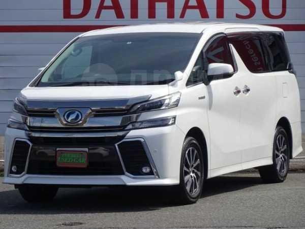 Toyota Vellfire, 2017 год, 1 650 000 руб.