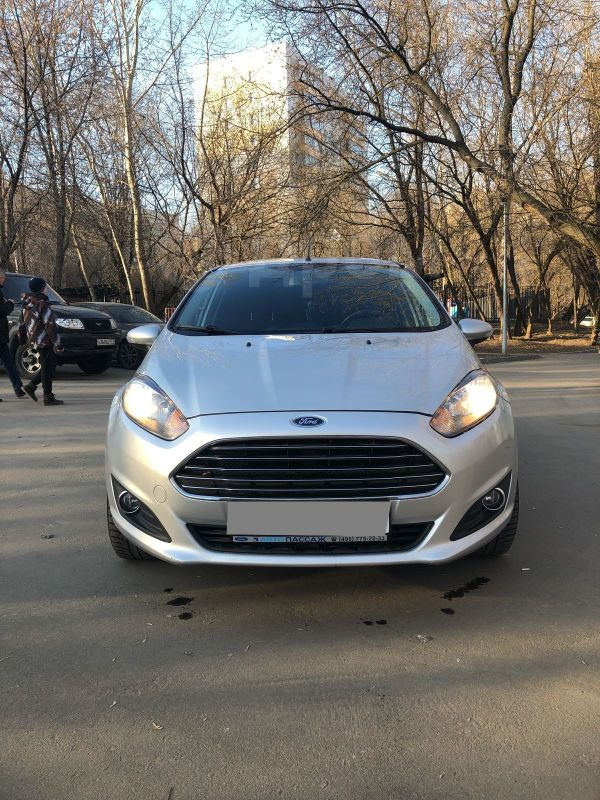 Ford Fiesta, 2016 год, 480 000 руб.