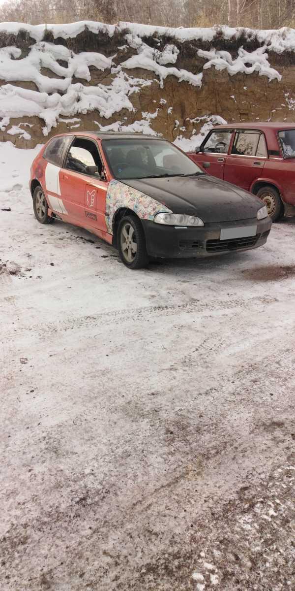 Honda Civic, 1994 год, 125 000 руб.