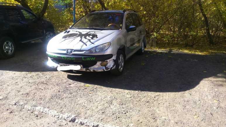 Peugeot 206, 2002 год, 85 000 руб.