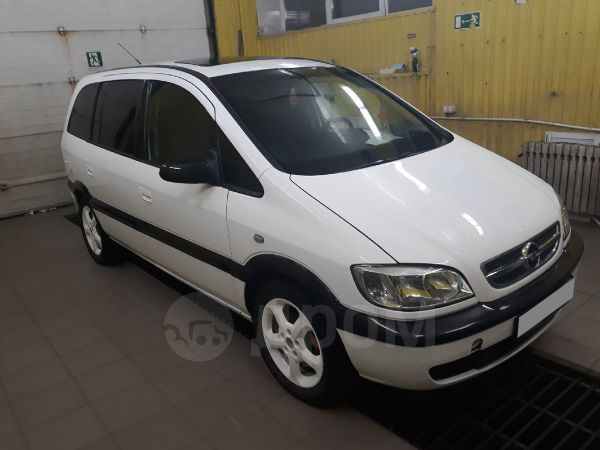 Opel Zafira, 2004 год, 200 000 руб.