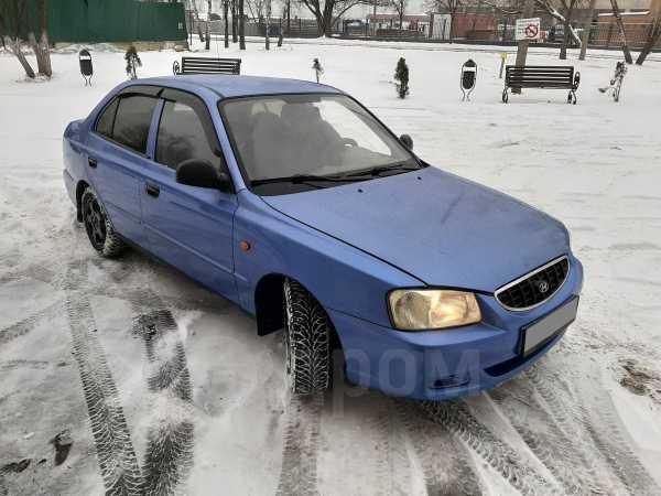 Hyundai Accent, 2003 год, 161 000 руб.