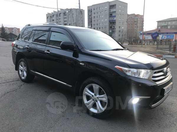 Toyota Highlander, 2011 год, 1 350 000 руб.