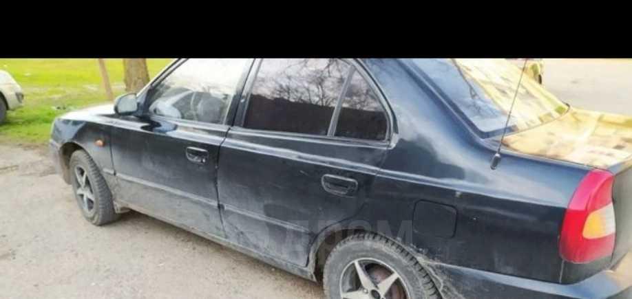 Hyundai Accent, 2007 год, 170 000 руб.