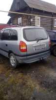 Opel Zafira, 2002 год, 140 000 руб.