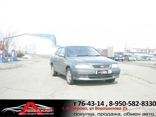 Nissan Sunny, 2002 год, 159 000 руб.