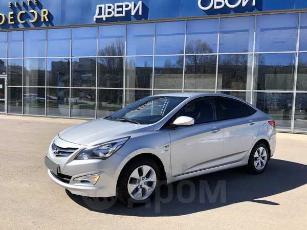 Hyundai Solaris, 2015 год, 585 000 руб.