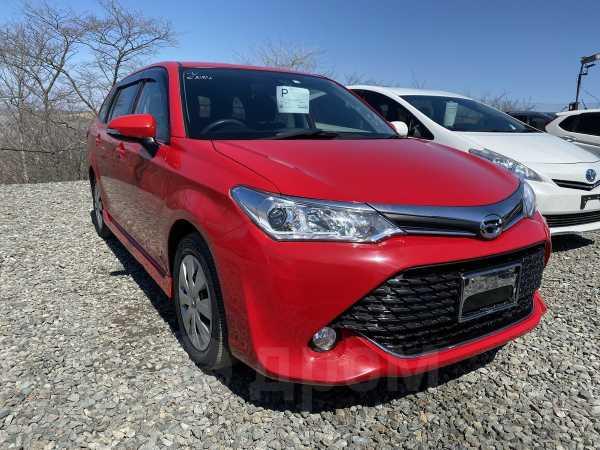 Toyota Corolla Fielder, 2016 год, 749 000 руб.
