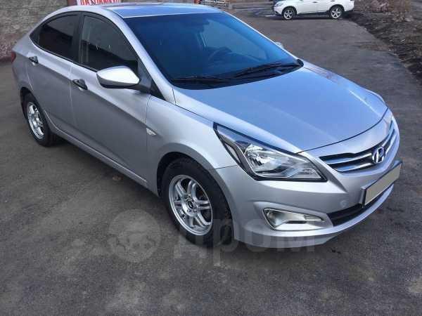 Hyundai Solaris, 2016 год, 370 000 руб.