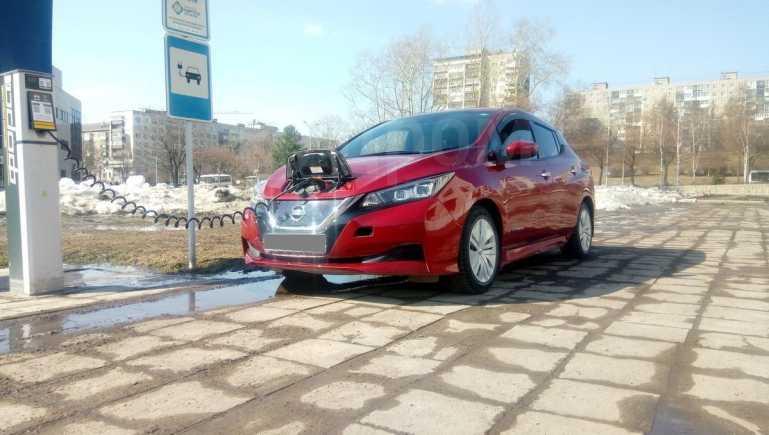 Nissan Leaf, 2017 год, 1 360 000 руб.