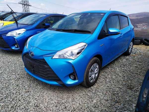 Toyota Vitz, 2018 год, 710 000 руб.