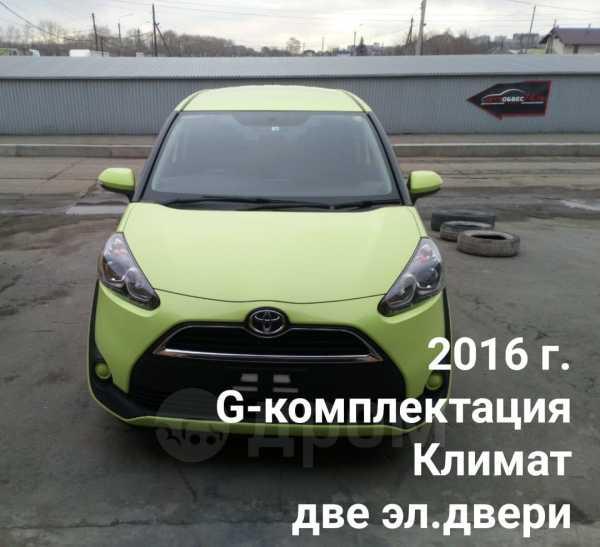 Toyota Sienta, 2016 год, 855 555 руб.