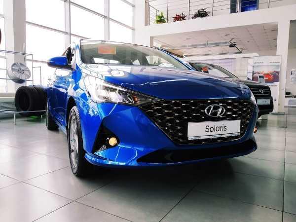Hyundai Solaris, 2020 год, 1 297 057 руб.