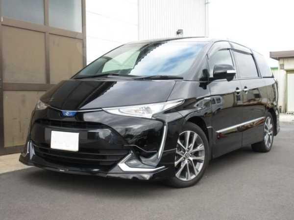 Toyota Estima, 2017 год, 1 390 000 руб.