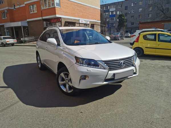 Lexus RX270, 2012 год, 1 370 000 руб.
