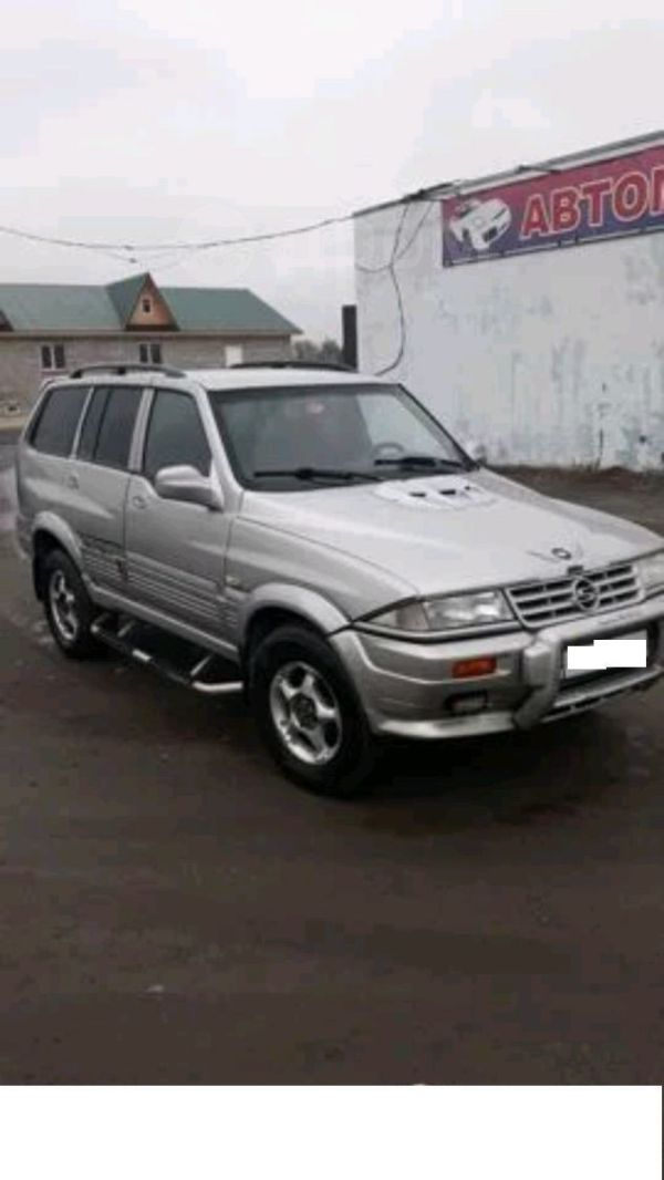 SsangYong Musso, 1997 год, 100 000 руб.
