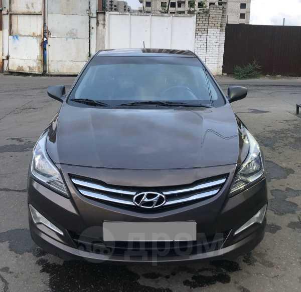 Hyundai Solaris, 2015 год, 490 000 руб.