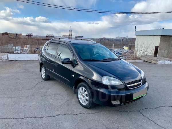 Chevrolet Rezzo, 2006 год, 229 000 руб.