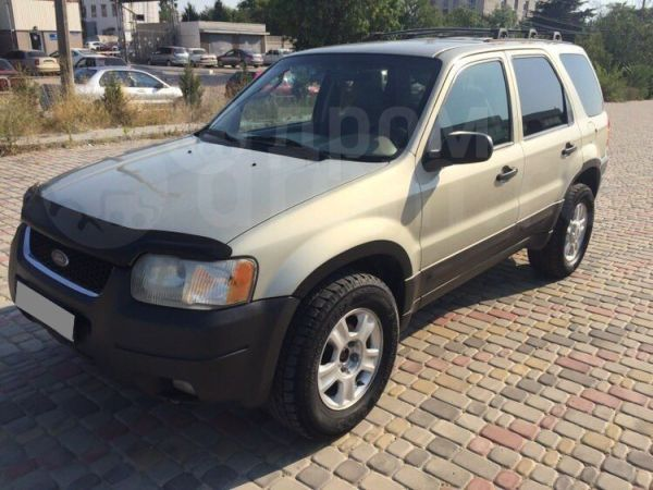 Ford Escape, 2003 год, 340 000 руб.