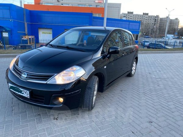 Nissan Tiida, 2010 год, 409 000 руб.