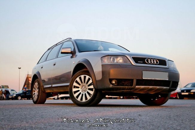 Audi A6 allroad quattro, 2002 год, 500 000 руб.