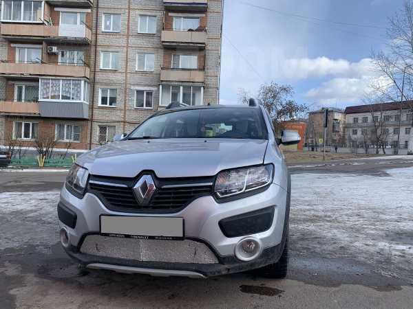 Renault Sandero Stepway, 2017 год, 549 000 руб.