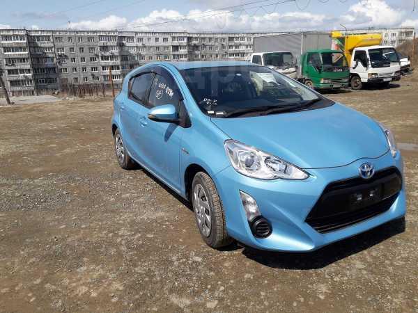 Toyota Aqua, 2015 год, 629 000 руб.