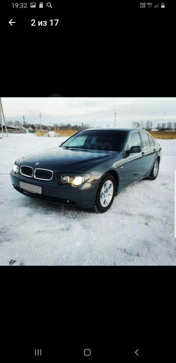 BMW 7-Series, 2002 год, 310 000 руб.
