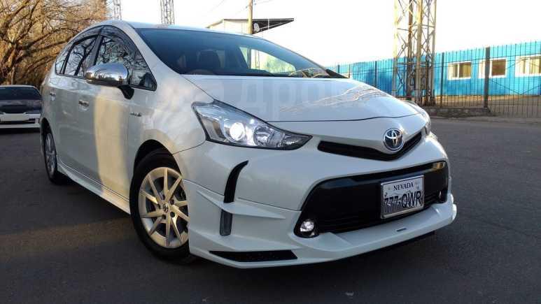 Toyota Prius a, 2016 год, 1 125 000 руб.