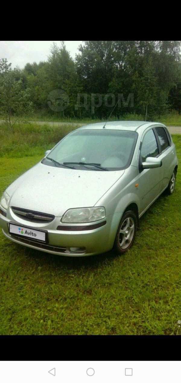 Chevrolet Aveo, 2004 год, 165 000 руб.