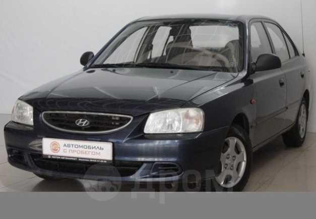 Hyundai Accent, 2008 год, 208 000 руб.
